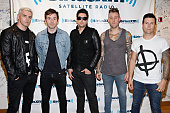 Lostprophets visit the SiriusXM Studio on July 10 2012 in New York City