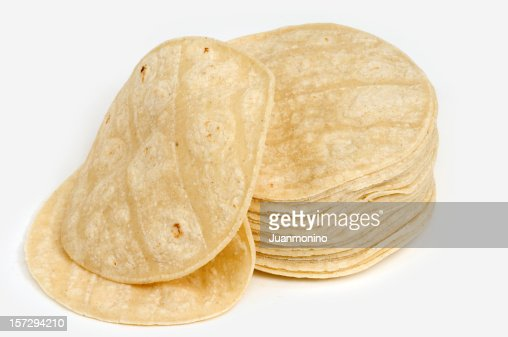 Lot of corn mexican tortillas