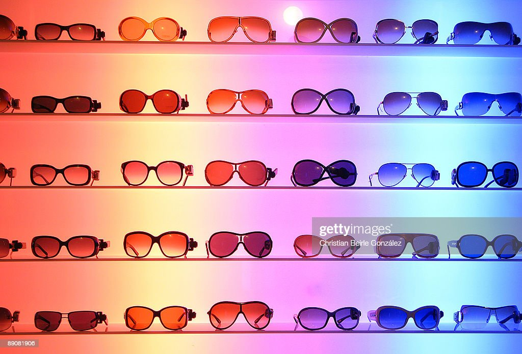 A lot of Sunglasses : Stock Photo