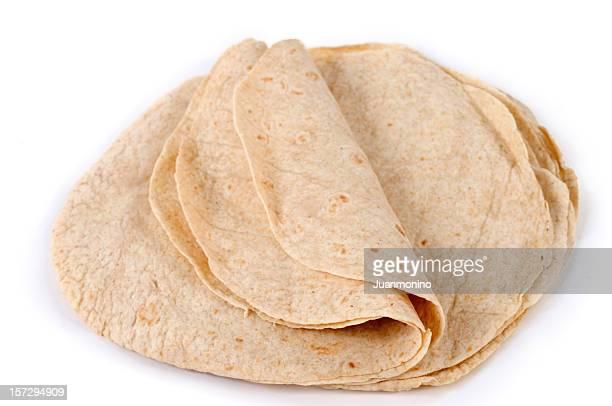 多くの全体の小麦粉のトルティーヤメキシコ