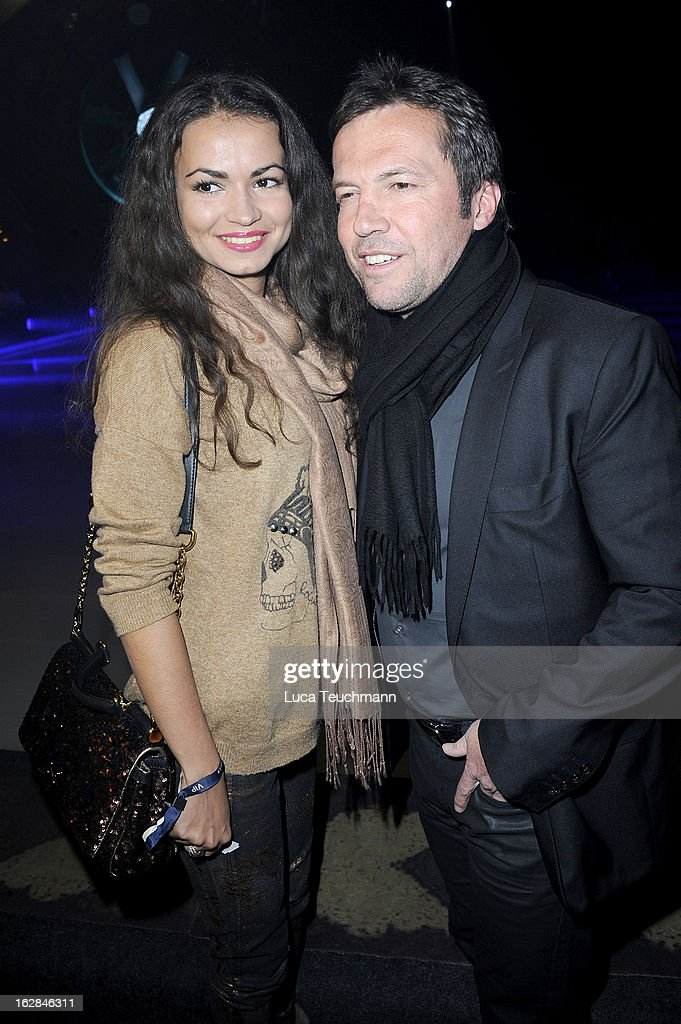 <a gi-track='captionPersonalityLinkClicked' href=/galleries/search?phrase=Lothar+Matthaeus&family=editorial&specificpeople=217345 ng-click='$event.stopPropagation()'>Lothar Matthaeus</a> and new girlfrend Anastasia attend the Holiday On Ice Show at Tempodrom on February 28, 2013 in Berlin, Germany.
