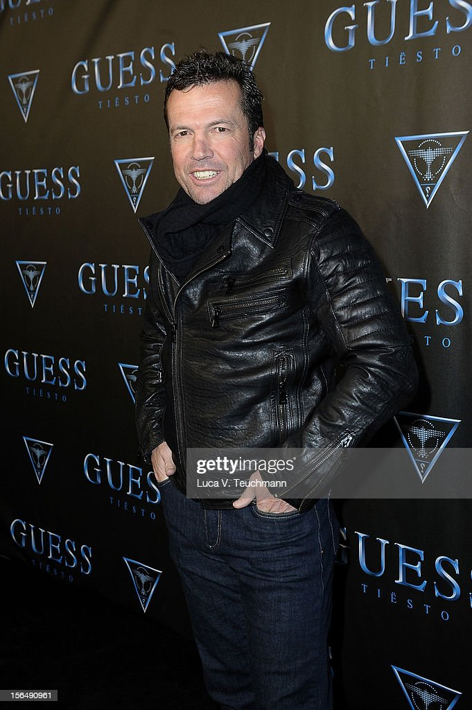 Lothar Matthaeus attends 'Guess Presents Tiesto' at P1 on November 15 2012 in Munich Germany
