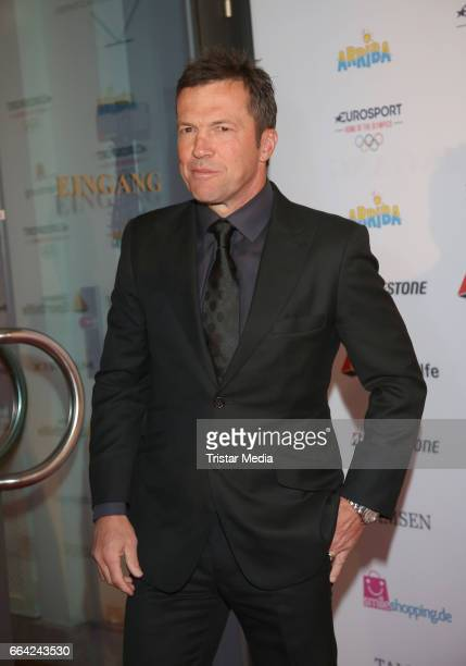 Lothar Matthaeus attends the German Sports Journalism Award 2017 at Grand Elysee Hotel on April 03 2017 in Hamburg Germany