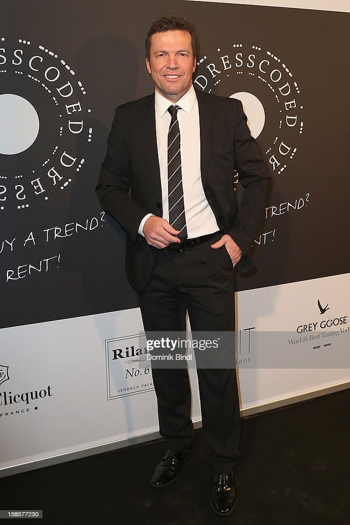 Lothar Matthaeus attends the Natascha & Gernot Gruen 'Golden Red Christmas Night' Party on December 19, 2012 in Munich, Germany.