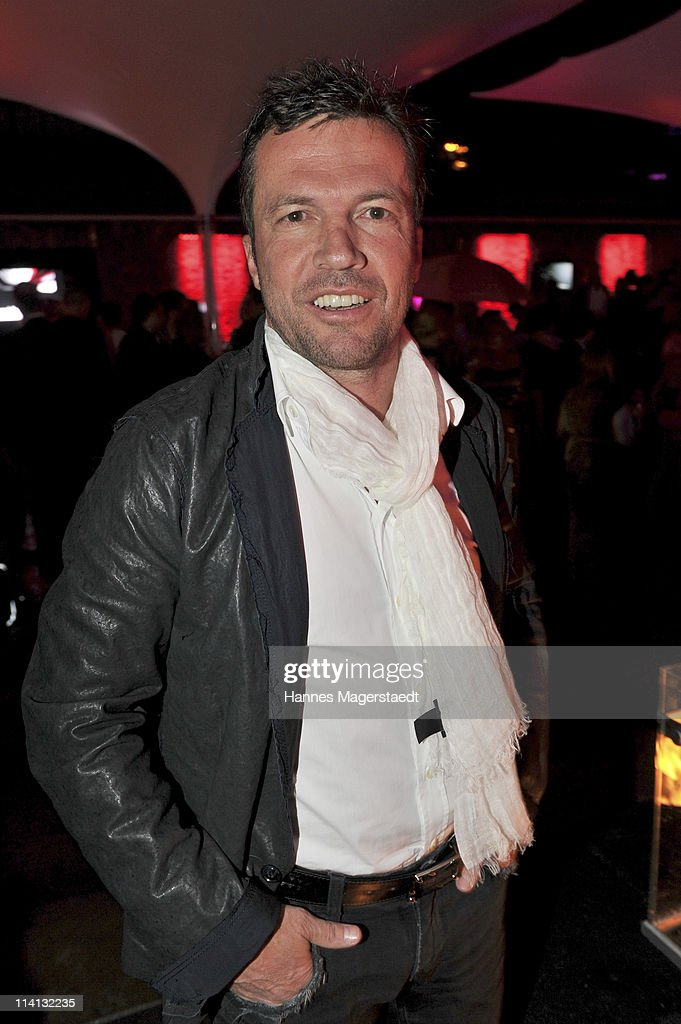 Lothar Matthaeus attends the P1 grand opening of the terrace on May 12 2011 in Munich Germany