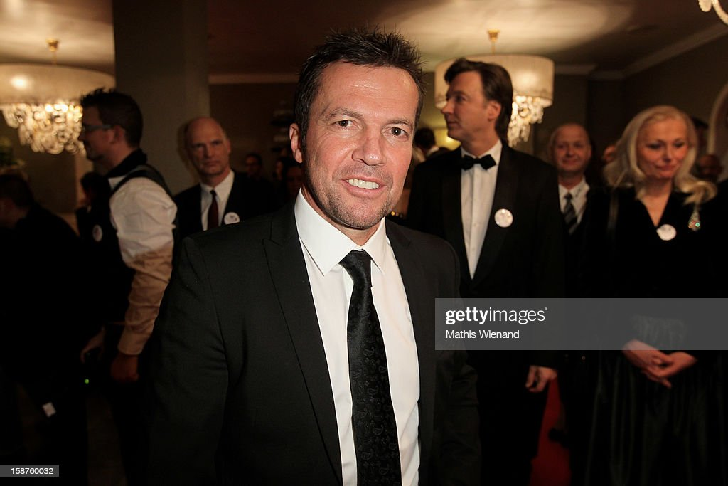 <a gi-track='captionPersonalityLinkClicked' href=/galleries/search?phrase=Lothar+Matthaeus&family=editorial&specificpeople=217345 ng-click='$event.stopPropagation()'>Lothar Matthaeus</a> attends the Silver Fox Charity Gala at Hotel van der Falk on December 22, 2012 in Moers, Germany.