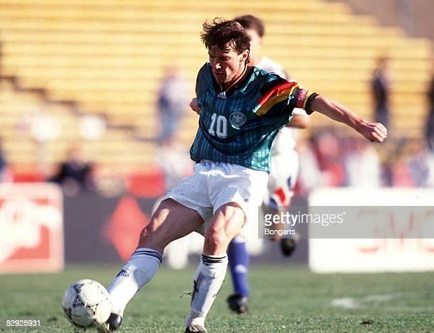 CUP 1993 in San Francisco LAENDERSPIEL USA DEUTSCHLAND 03 Lothar MATTHAEUS/GER EINZELAKTION