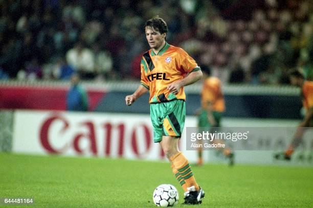 Lothar MATTHAUS PSG / Bayern Munich Phase de Poule de la Champions League 1994/1995 Parc des Princes Paris Photo Alain Gadoffre / Icon Sport