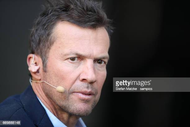 Lothar Matthäus during the Bundesliga match between Bayern Muenchen and Borussia Dortmund at Allianz Arena on April 8 2017 in Munich Germany