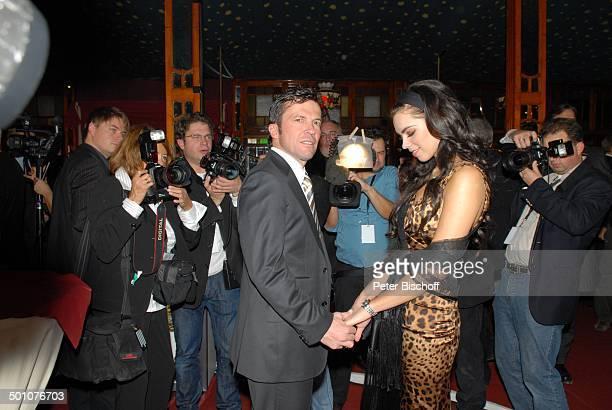 Lothar Matthäus Freundin Kristina Liliana Presse Gala 'Laureus Medien Award' 2007 'Witzigmann und Roncalli Bajazzo' München Bayern Deutschland Europa...
