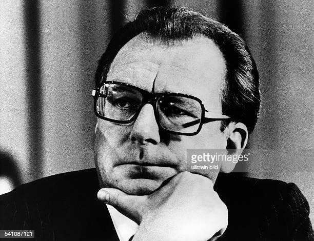 Lothar Späth *Politiker CDU D 1980