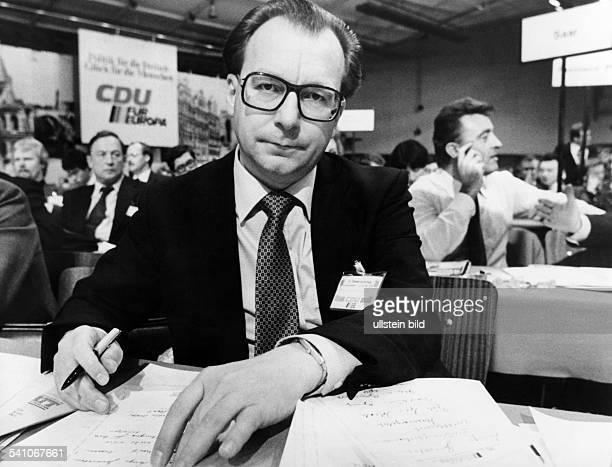 Lothar Spth *Politiker CDU D am Rande des 26 Bundesparteitages der CDU 1978