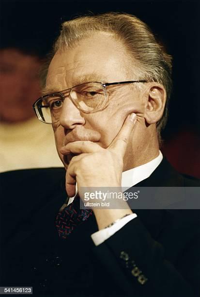 Lothar Späth *Politiker Manager CDU D Vorstandsvorsitzender der Jenoptik AGin JenaPorträt Januar 2000