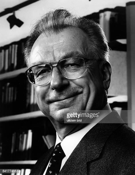 Lothar Spth *Politiker Manager CDU D Vorstandsvorsitzender derCarlZeissWerke in Jena Portrt 1997