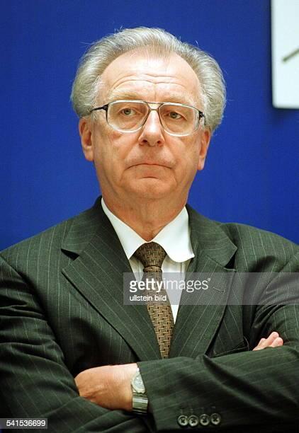 Lothar Späth *Politiker Manager CDU DVorstandsvorsitzender der Jenoptik AGPorträt