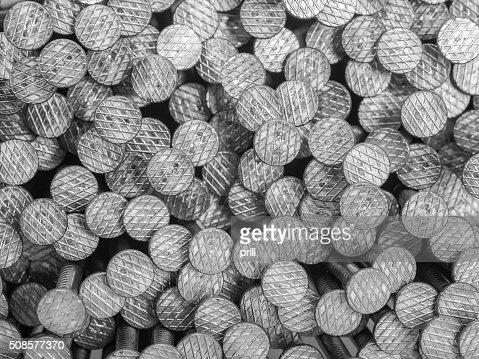 lots of nails : Stockfoto