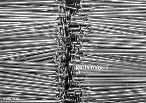 lots of nails : Stock Photo