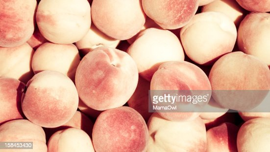 Lots of peaches : Stock Photo