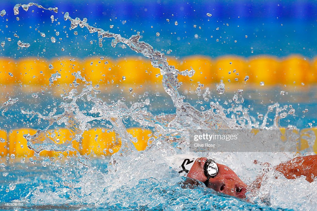 <a gi-track='captionPersonalityLinkClicked' href=/galleries/search?phrase=Lotte+Friis&family=editorial&specificpeople=3035975 ng-click='$event.stopPropagation()'>Lotte Friis</a> of Denmark competes in the Women's 1500m Freestyle Heats on day ten of the 16th FINA World Championships at the Kazan Arena on August 3, 2015 in Kazan, Russia.