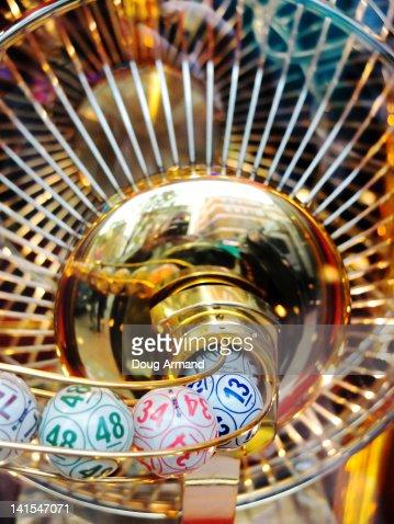Lottery balls : Stock Photo