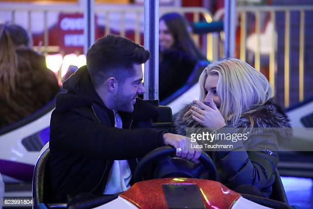 Lottie Moss and Alex Mytton attends VIP preview night at Hyde Park Winter Wonderland on November 17 2016 in London United Kingdom