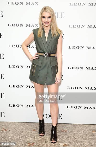 Lottie Moss attends at Vogue 100 A Century Of Style atNational Portrait Gallery on February 9 2016 in London England