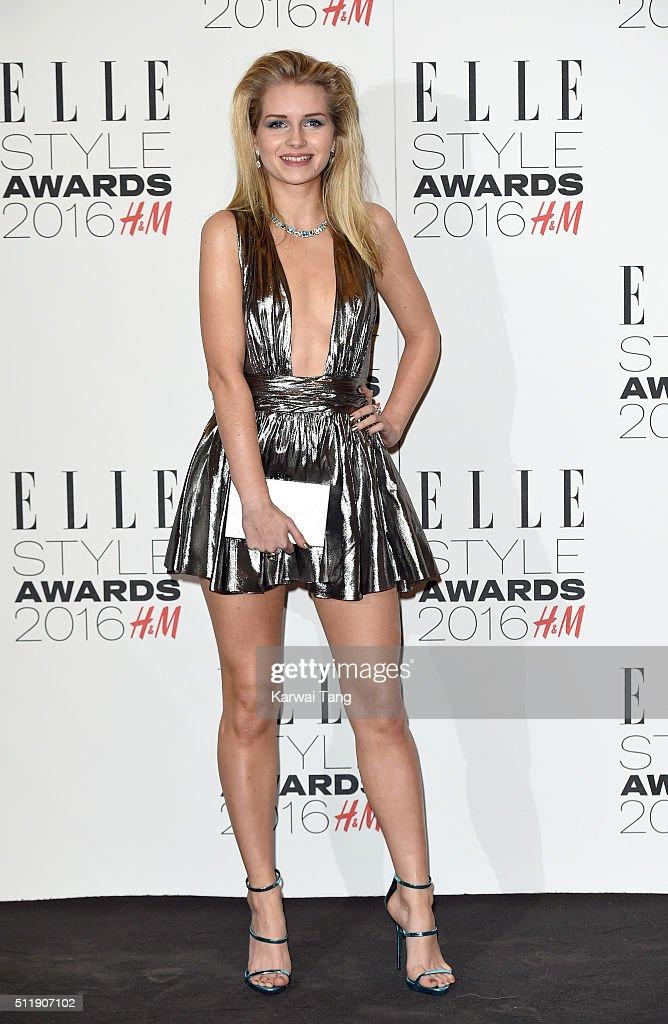 Lottie Moss attends The Elle Style Awards 2016 on February 23, 2016 in London, England.