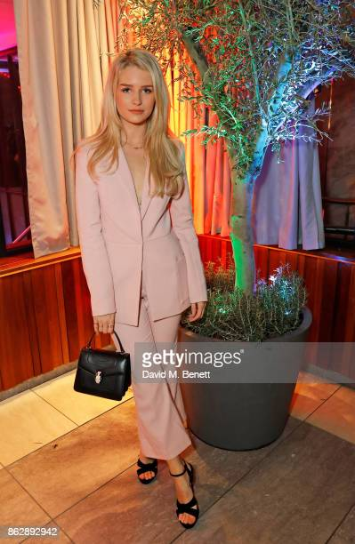 Lottie Moss attends the launch of The Trafalgar St James in the hotel's spectacular new bar The Rooftop on October 18 2017 in London England