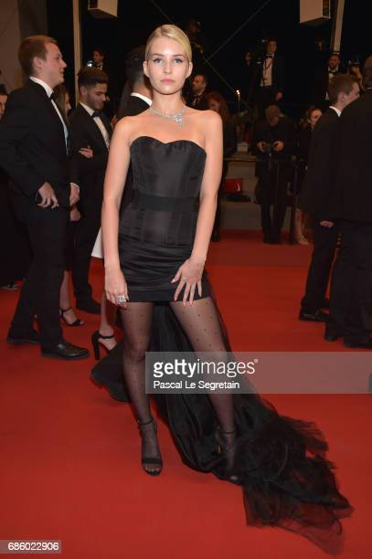 Lottie Moss attends the 'The Square' screening during the 70th annual Cannes Film Festival at Palais des Festivals on May 20 2017 in Cannes France