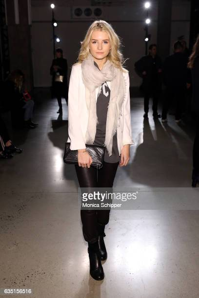 Lottie Moss attends the Zadig Voltaire fashion show during New York Fashion Week at Skylight Modern on February 13 2017 in New York City