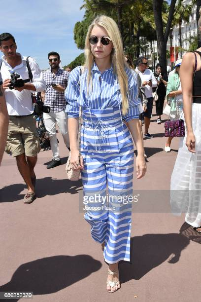Lottie Moss is spotted at Hotel Martinez during the 70th annual Cannes Film Festival at on May 21 2017 in Cannes France