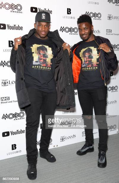 Lotto Boyzz attending the Mobo Awards 2017 Nominations at the YouTube Space London