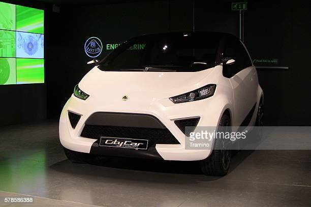 Lotus CityCar concept on the motor show