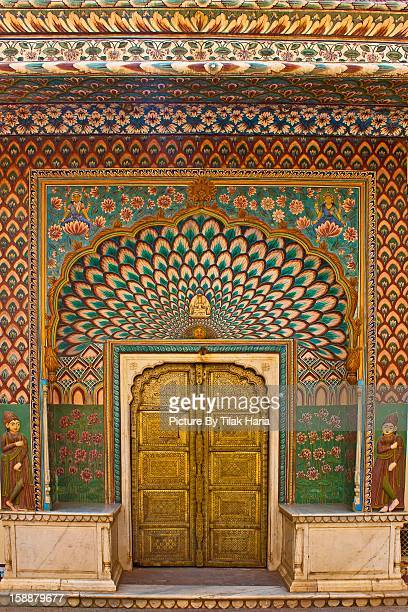 Lotus Gate - City Palace - Jaipur