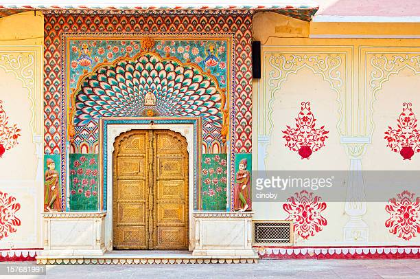 Lotus Gate - Pitam Niwas Chowk , City Palace Jaipur