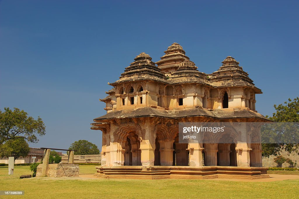 Lotus Mahal in Hampi, India : Stock Photo