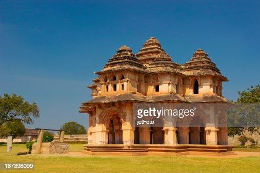 Lotus Mahal in Hampi, Indien : Stock-Foto