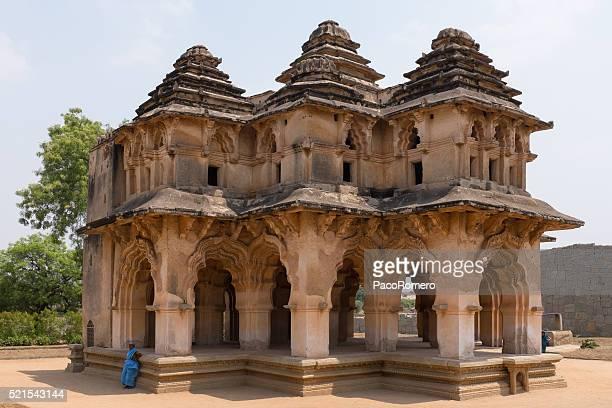 Lotus Mahal in Hampi, Karnataka in India