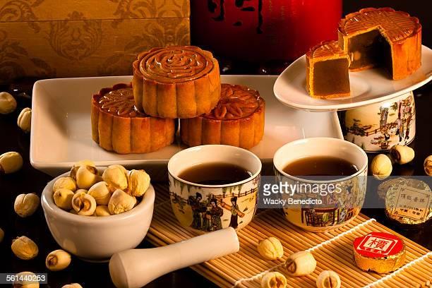 Lotus paste Mooncakes