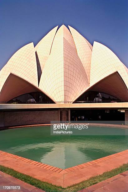 Lotus temple at New Delhi India