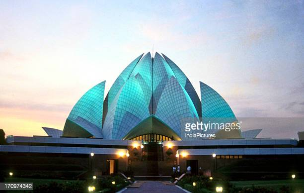 Lotus temple New Delhi India