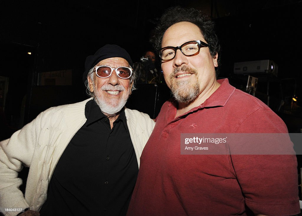Lou Adler and Jon Favreau attend Bingo At The Roxy to Benefit The Painted Turtle at The Roxy Theatre on October 10, 2013 in West Hollywood, California.