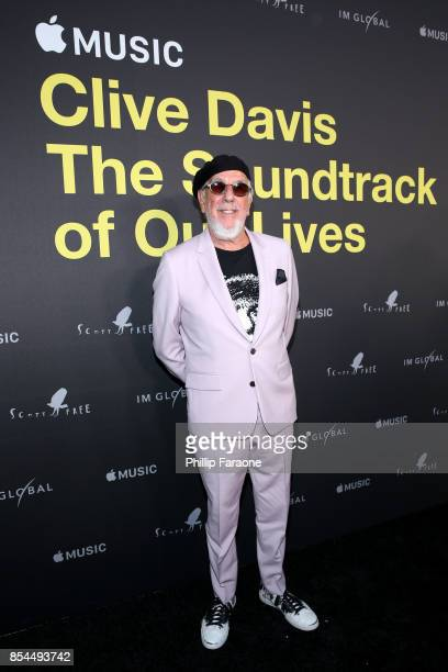 Lou Adler attends the Apple Music Los Angeles Premiere Of 'Clive Davis The Soundtrack Of Our Lives' at Pacific Design Center on September 26 2017 in...