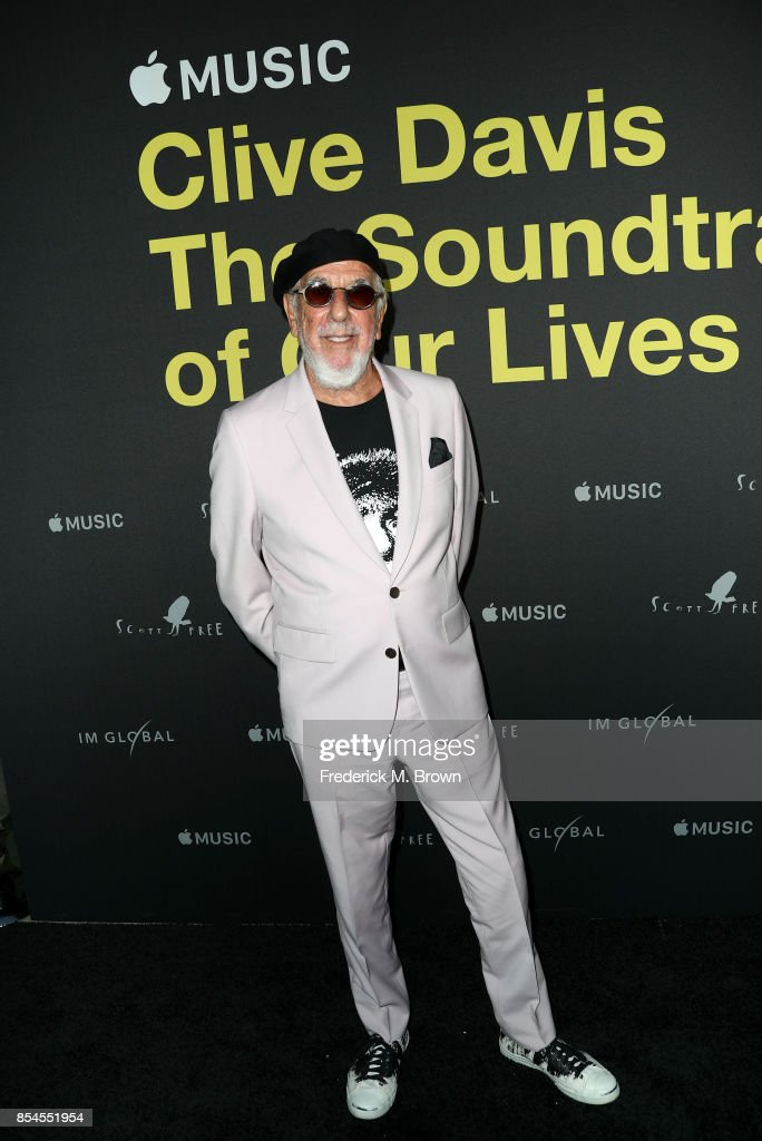 Lou Adler attends the Apple Music Los Angeles Premiere Of 'Clive Davis: The Soundtrack Of Our Lives' at Pacific Design Center on September 26, 2017 in West Hollywood, California.