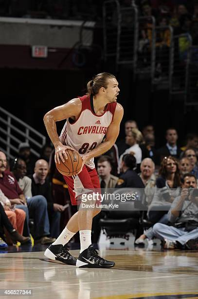 Lou Amundson of the Cleveland Cavaliers during a scrimmage at The Quicken Loans Arena on October 1 2014 in Independence Ohio NOTE TO USER User...