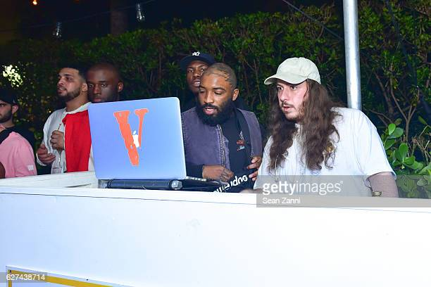 Lou and A$AP Mob attend A$AP Worldwide Cozy Clubhouse at The Surf Lodge Bungalow on December 2 2016 in Miami Beach FL