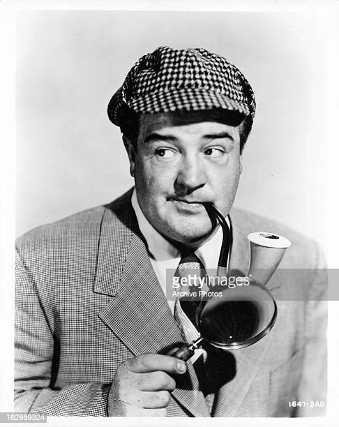 Lou Costello as a detective in publicity portrait for the film 'Abbott And Costello Meet The Invisible Man' 1951