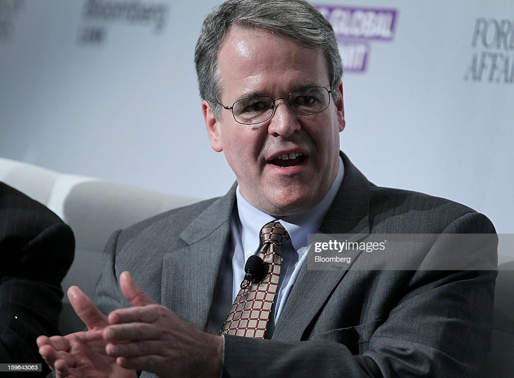 Lou Crandall, chief economist at Wrightson ICAP LLC, speaks at the Bloomberg Global Markets Summit in New York, U.S., on Thursday, Jan. 17, 2013. The Bloomberg Global Markets Summit, co-hosted by Foreign Affairs Magazine and Bloomberg LINK, convenes market makers and market movers as investors map their strategy for the year ahead. Photographer: Jin Lee/Bloomberg via Getty Images