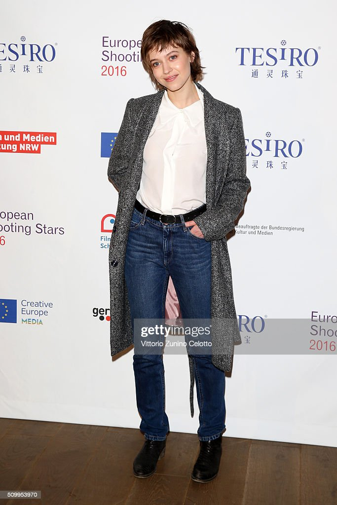 Lou de Laage attends the Shooting Stars 2016 photo call in cooperation with L'Oreal during the 66th Berlinale International Film Festival Berlin at 25hours Hotel on February 13, 2016 in Berlin, Germany.
