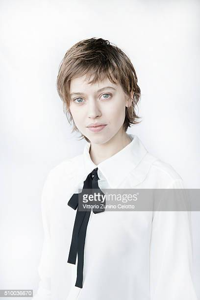 Lou de Laage poses for the Shooting Stars 2016 portrait session in cooperation with L'Oreal during the 66th Berlinale International Film Festival...